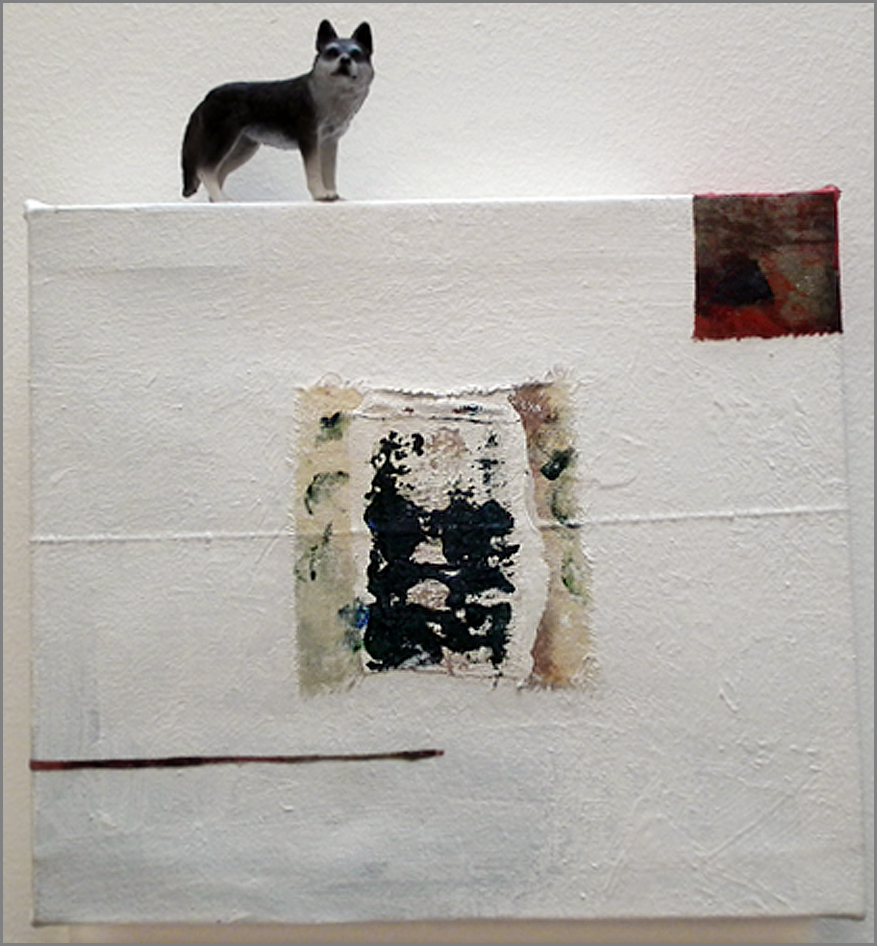 object and painting